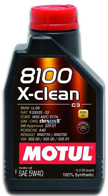 MOTUL 8100 X-Clean 5W40  - E-Shop Autostore - A loja do Canal Auto Didata