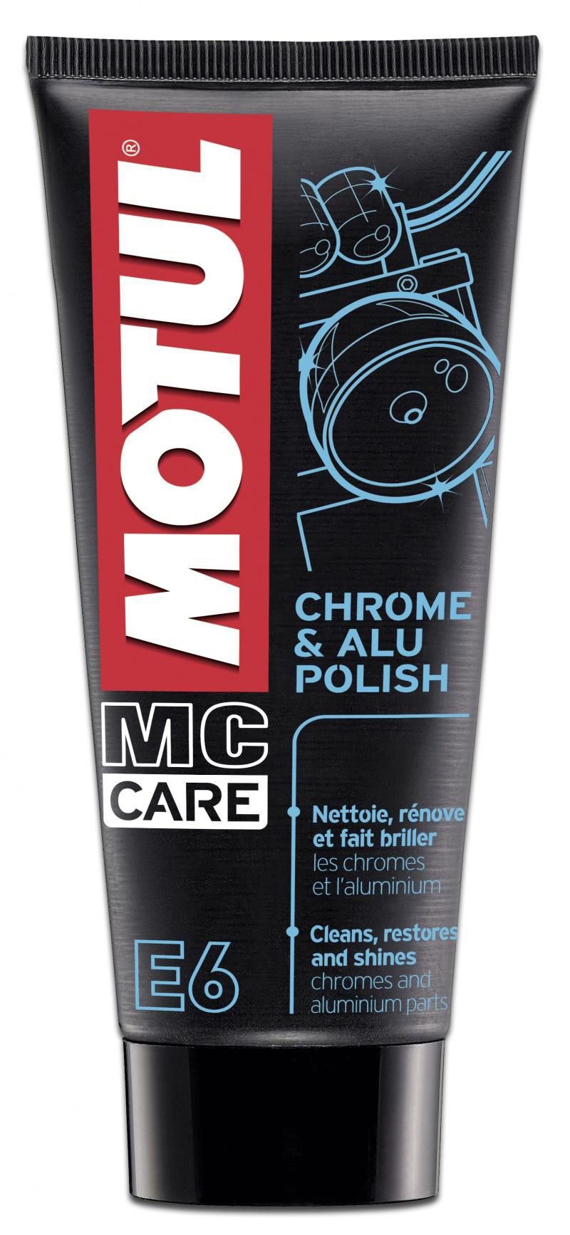 MOTUL MCCARE E6 CHROME ALU POLISH  - E-Shop Autostore - A loja do Canal Auto Didata