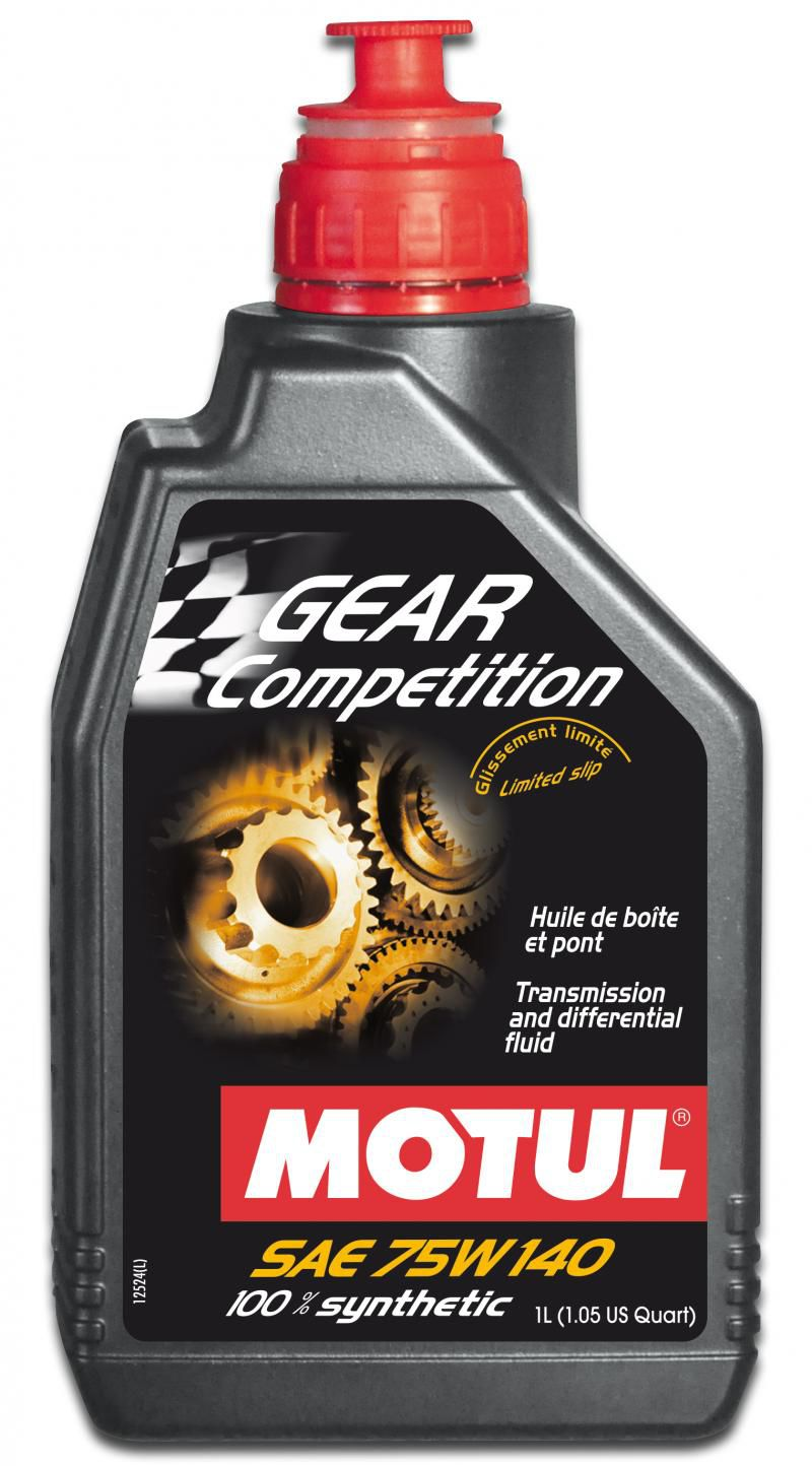 MOTUL GEAR COMPETITION 75W140  - E-Shop Autostore - A loja do Canal Auto Didata