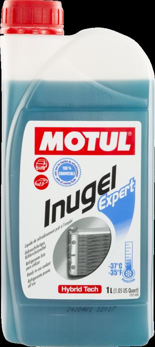 MOTUL Auto Cool Inugel Expert Pronto Uso Azul Híbrido  - E-Shop Autostore - A loja do Canal Auto Didata