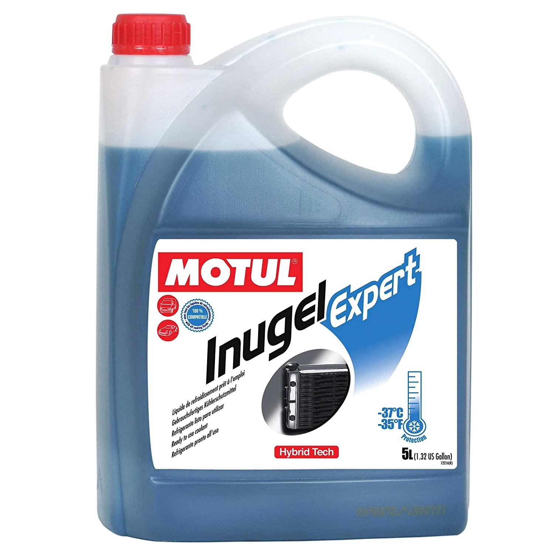 MOTUL Inugel AUTO COOL Expert Pronto Uso Azul Híbrido 5L  - E-Shop Autostore - A loja do Canal Auto Didata