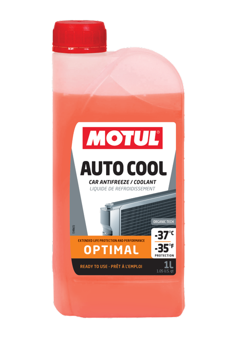 MOTUL Auto Cool Inugel Optimal Pronto Uso Laranja Orgânico  - E-Shop Autostore - A loja do Canal Auto Didata
