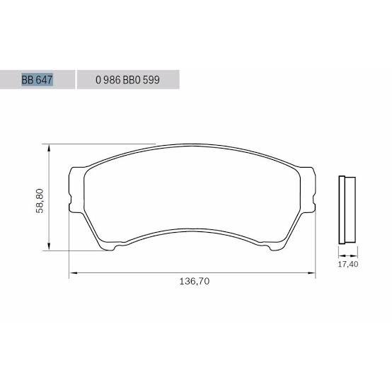 Pastilhas DIANTEIRAS BOSCH para Ford Fusion 2006 até 2012  - E-Shop Autostore - A loja do Canal Auto Didata