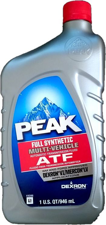 PEAK ATF Dexron VI Mercon LV 946ml  - E-Shop Autostore - A loja do Canal Auto Didata