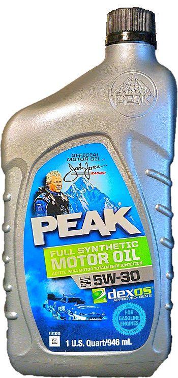PEAK fluido 5W30 API-SN CAIXA COM 6 GARRAFAS de 946ml