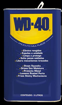 WD-40® PRODUTO MULTIUSOS – EMBALAGEM GALÃO 5 LITROS (LÍQUIDO)  - E-Shop Autostore - A loja do Canal Auto Didata