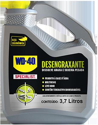 WD-40® SPECIALIST® DESENGRAXANTE - 3,7 LITROS  - E-Shop Autostore - A loja do Canal Auto Didata