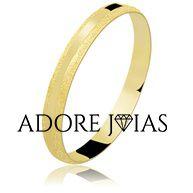 Aliança de Casamento em Ouro 18 K Elisângela