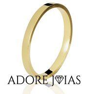 Aliança de Casamento em Ouro 18k Joyce