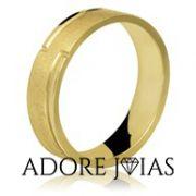Aliança de Casamento em Ouro 18k Valéria