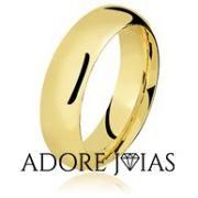 Aliança de Casamento em Ouro 18k  Verena2