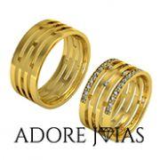 Aliança de Casamento em Ouro 18 k Barcelona
