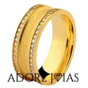 Aliança de Casamento em Ouro 18 k Espanha