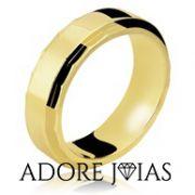 Aliança de Casamento em Ouro 18k Giovanna