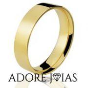 Aliança de Casamento em Ouro 18k Larissa