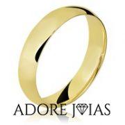 Aliança de Casamento em Ouro 18k Lígia