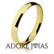 Aliança de Casamento em Ouro 18k Luana