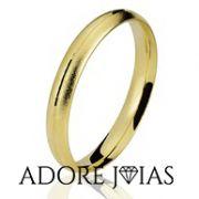 Aliança de Casamento em Ouro 18k Paula