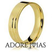 Aliança de Casamento em Ouro 18k Rafaela