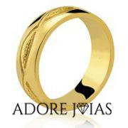 Aliança de Casamento em Ouro 18k Rebeca