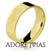 Aliança de Casamento em Ouro 18k Rose