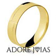 Aliança de Casamento em Ouro 18k Sofia