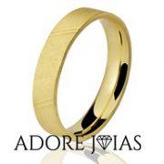 Aliança de Casamento em Ouro 18k Sônia