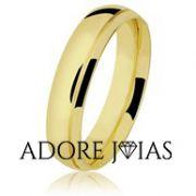 Aliança de Casamento em Ouro 18 k Verônica