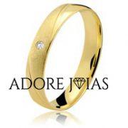 Aliança de Casamento em Ouro 18k Viviane