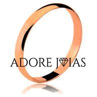 Aliança de Casamento em Ouro 18 k Ana Clara