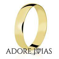 Aliança de Casamento em Ouro 18 k Anita