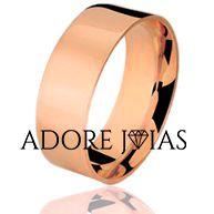 Aliança de Casamento em Ouro 18 k Ariane