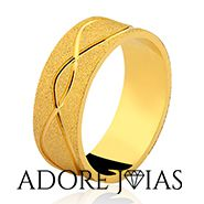 Aliança de Casamento em Ouro 18k Alemanha