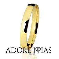 Aliança de Casamento em Ouro 18 k Beatriz