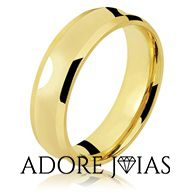 Aliança de Casamento em Ouro 18 k Belgrado