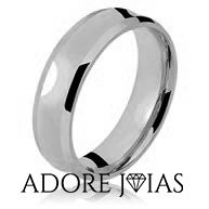 Aliança de Casamento em Ouro 18 k Clara