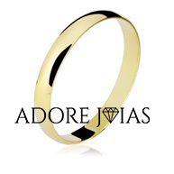 Aliança de Casamento em Ouro 18 k Eliana