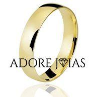 Aliança de Casamento em Ouro 18k Helena