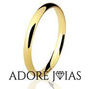 Aliança de Casamento em Ouro 18k Houston