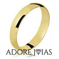Aliança de Casamento em Ouro 18k Isabele