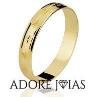 Aliança de Casamento em Ouro 18k Karina