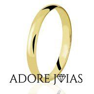 Aliança de Casamento em Ouro 18k Kênia