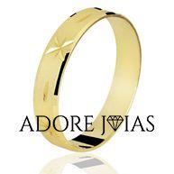 Aliança de Casamento em Ouro 18k Lilian