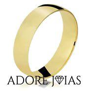 Aliança de Casamento em Ouro 18k Londres