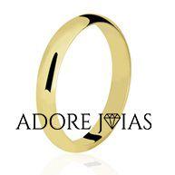Aliança de Casamento em Ouro 18k Luciana