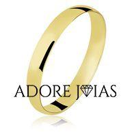 Aliança de Casamento em Ouro 18k Luna