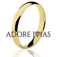 Aliança de Casamento em Ouro 18k Maíra