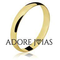 Aliança de Casamento em Ouro 18k Marisa