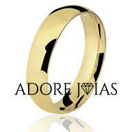 Aliança de Casamento em Ouro 18k Mayara
