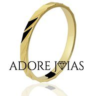 Aliança de Casamento em Ouro 18k Melissa